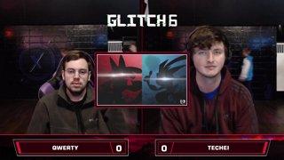 Glitch 6 SSBU - QWERTY (Lucario) VS Techei (Greninja) - Smash Ultimate Morph Meter Pools