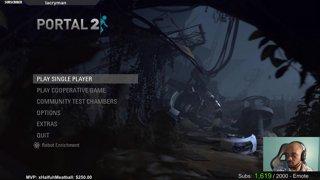 Portal 2 with Vigor (Feb 10, 2018)