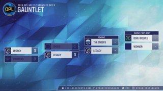 OPL GAUNTLET DAY 3: CHF vs. LGC