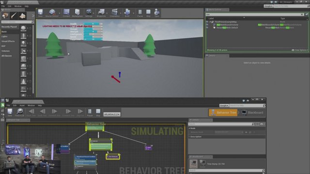 Unreal Engine Training Stream - Making Game Ready AI, Part 5 - LIVE from  Epic HQ