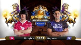 bloodyface vs Nalguidan - Semifinals - Hearthstone Grandmasters Americas S2 2019 Playoffs