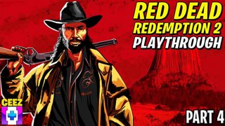 Red Dead Redemption 2 Playthrough PART 4 [MOVIE NIGHT]