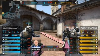 CS:GO - eUnited vs. Ghost [Inferno] Map 3 - Group B - ESL Pro League Season 9 Americas