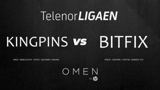 Telenorligaen Høst 2018: CS:GO Runde 6! Kingpins vs Bitfix!