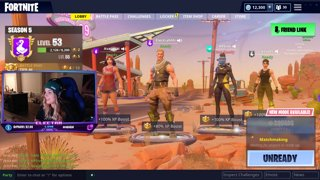 Co-Ed Fortnite Formal FINALS with Kruzer against Ava and KP