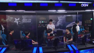 LCK Summer: GRF vs. GEN - HLE vs. SKT
