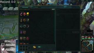 On hit kled series Game 1