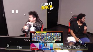 Run It Back - Tea (Pac Man) vs AG | WaDi (Bowser) Losers Finals - Smash Ultimate Singles
