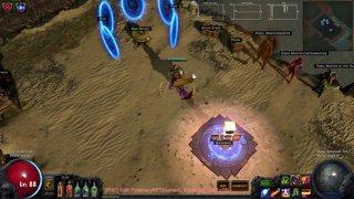 ProphecyHC RIP Lv88 RF Totem vs Atziri , Road to death