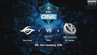 [LIVE-THAI] 🏆 ESL One Hamburg - Finals - 28/10/18 - Cyberclasher