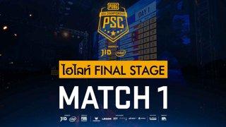[PSC][TH] JIB PUBG SEA Championship Phase 3  Game 1 [FINAL]