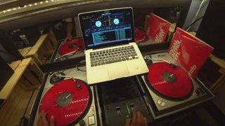 POV reorganizing + DJ/music !backflip !social