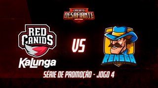Circuito Desafiante 2019: 2ª Etapa - Série de Promoção | RED Academy x Rensga eSports (Jogo 5)