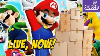 WE MARIO, WE PARTY 6/7 & Mail Time w/YoVideogames - ASUS Giveaway -> http://bit.ly/asusMax3 (Sat 9-8)