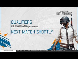 CGi Qualifiers Day 3 - Match 3