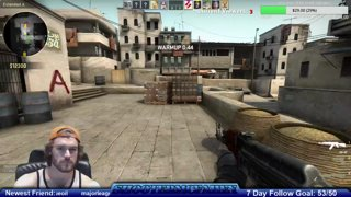 1st Comp Game in CSGO, killed it!!!!!!!