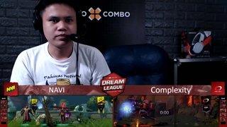 [FIL] Complexity 1 vs 0 Navi (BO3) | Game 1 | Dream League Season 10 Minor Group Stage