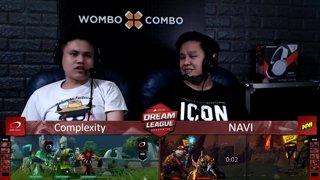 [FIL] Complexity 1 vs 0 Navi (BO3) | Game 2 | Dream League Season 10 Minor Group Stage