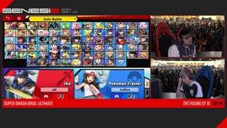 Genesis 6 SSBU - FOX MVG | MkLeo (Ike) VS TSM | Leffen (Pokemon Trainer) Smash Ultimate Winner's Top 64