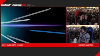 Genesis 6 SSBU - GW | ZackRay (Wolf) VS Light (Fox) Smash Ultimate Winner's Quarters