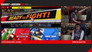 Genesis 6 SSBU - FOX MVG | MkLeo (Ike) VS GRV | Dabuz (Palutena) Smash Ultimate Winner's Quarters