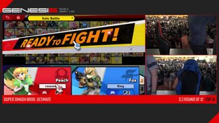 Genesis 6 SSBU - Light (Fox) VS Captain Zack (Peach) Smash Ultimate Loser's Top 12