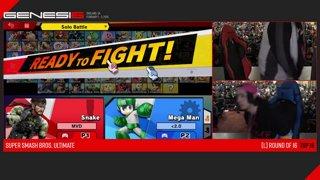 Genesis 6 SSBU - WBG | MVD (Snake) VS DB | Yeti (Mega Man) Smash Ultimate Loser's Top 16