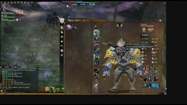 GuildWars2 - Guardian / Necro -=wVw Raid=-