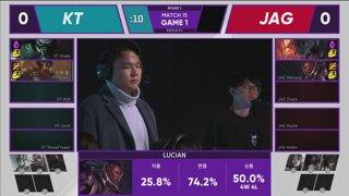 LCK Spring: KT vs. JAG - GRF vs. DWG