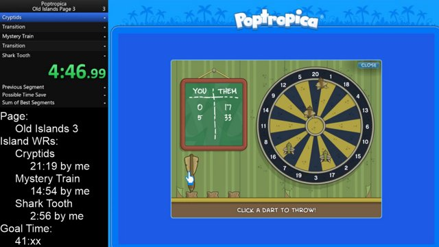 Poptropica Old School Islands Page 3 in 41:40 (PB/WR)