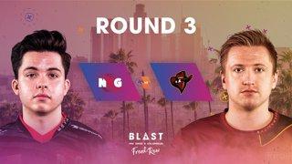 BLAST Pro Series Los Angeles 2019 - Front Row - Round 3 - NRG Vs. Renegades