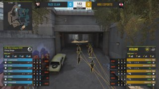 CS:GO - NRG vs. FaZe [Overpass] Map 2 - Group A - ESL One Cologne 2019