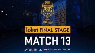 [PSC][TH] JIB PUBG SEA Championship Phase 3  Game 13 [FINAL]