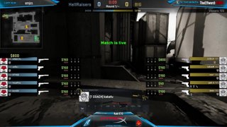 BIG vs. HellRaisers [Map1] - DH Austin Qualifier