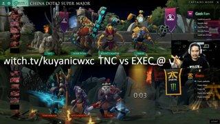 Fnatic vs Geek Fam Game 2 (BO2) | China Dota2 Supermajor SEA Qualifiers