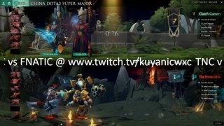 Clutch Gamers vs TPNND Game 1 | China Dota2 Supermajor - SEA Qualifier | BO2