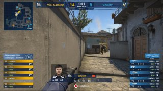 RERUN: Vitality vs ViCi [Inferno] Map 1 Ro4 - Challengers Stage - IEM Katowice 2019