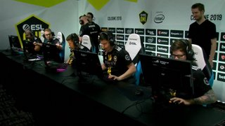 CS:GO - NiP vs. Vitality [Dust2] Map 1 - Group B - ESL One Cologne 2019