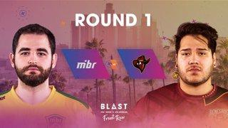 BLAST Pro Series Los Angeles 2019 - Front Row - Round 1 - MIBR Vs. Renegades