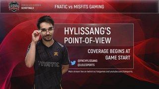 EU LCS POV Stream: FNC Hylissang