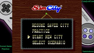 Super Chronquest Game #12 Simcity stream #2