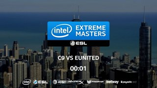 CS:GO - Cloud9 vs. eUnited [Overpass] Map 1 - LB Ro2 - IEM Chicago 2018 NA Closed Qualifiers