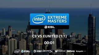 CS:GO - Cloud9 vs. eUnited [Mirage] Map 3 - LB Ro2 - IEM Chicago 2018 NA Closed Qualifiers