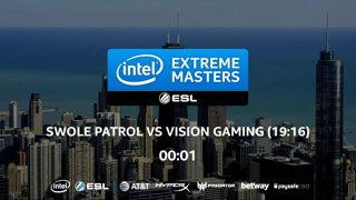 CS:GO - Swole Patrol vs. Vision [Overpass] Map 2 - LB Ro4 - IEM Chicago 2018 NA Closed Qualifiers