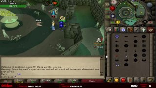 Skill Specs vs ROT 30 minute tank test