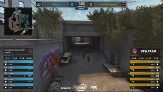 CS:GO - The Pensioners vs LFAug - Playoffs - Game 2 - ESL Premiership Spring 2019