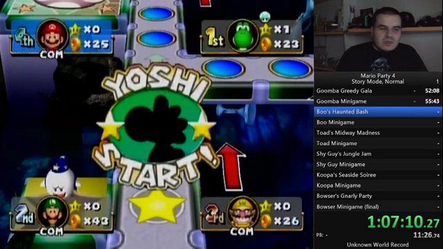 [PB 5:15:15] Mario Party 4 Speedrun - Story Mode (Normal) First Run part 2