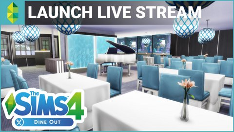 The Sims 4 Dine Out - First Look!