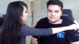 Doing Dyrus' makeup :^)