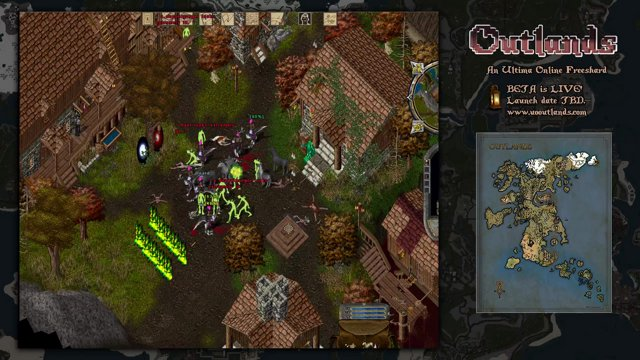 Final moment of UO: Outlands Beta